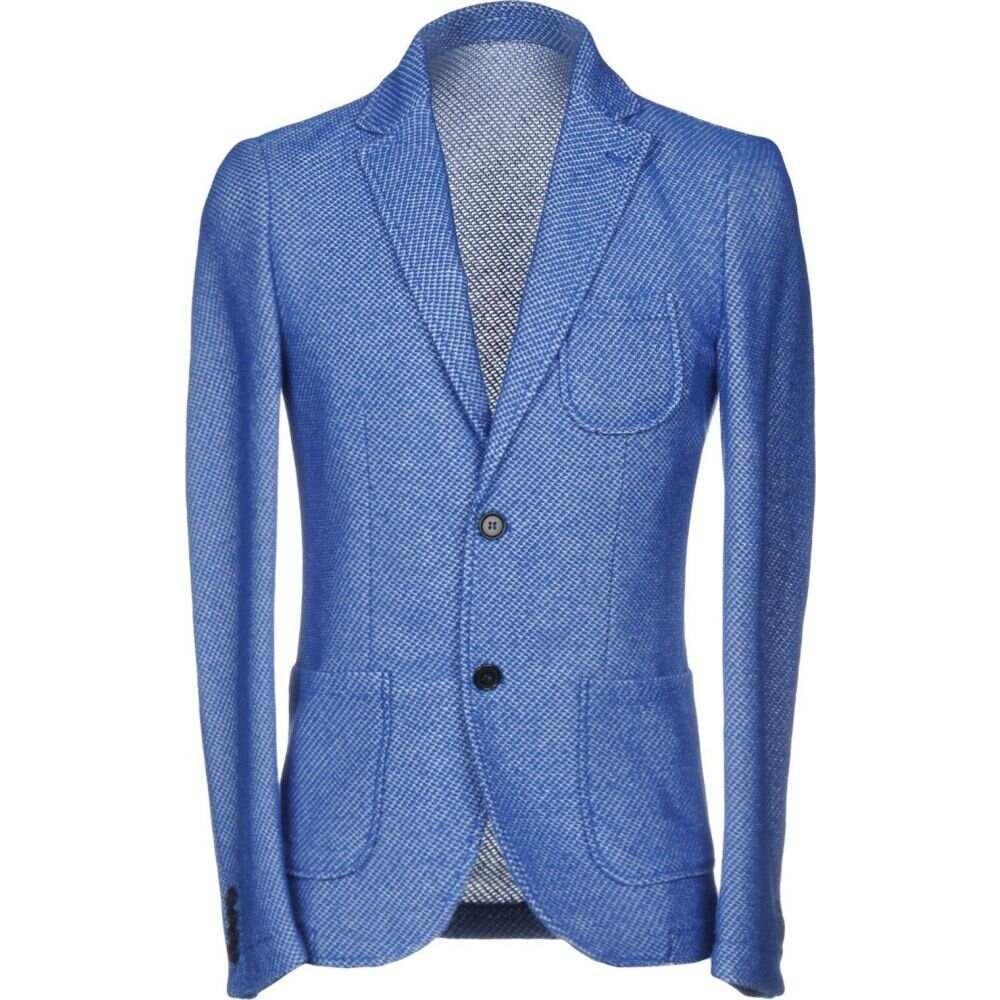 スティロソフィー インダストリー STILOSOPHY INDUSTRY メンズ スーツ・ジャケット アウター【blazer】Pastel blue