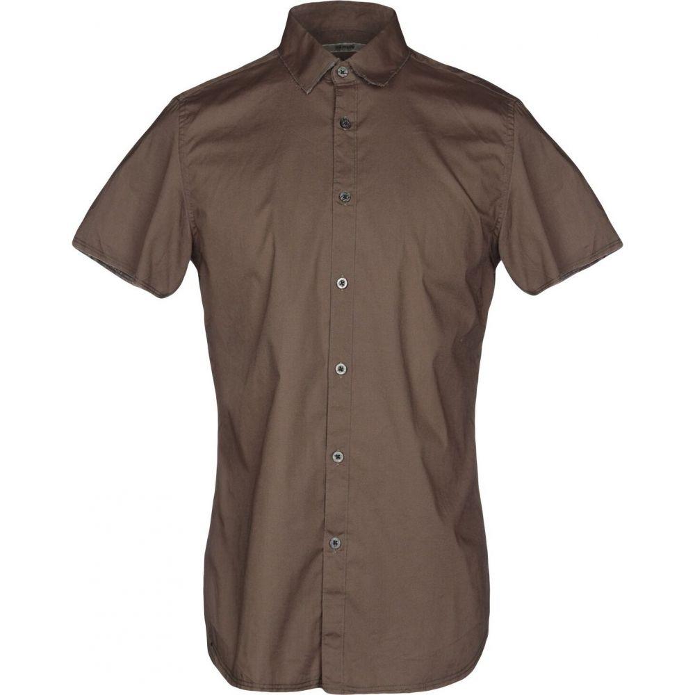 メンズ color スティロソフィー シャツ shirt】Military STILOSOPHY トップス【solid green INDUSTRY インダストリー