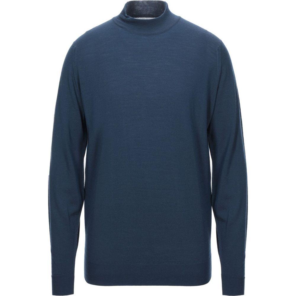 トップス【turtleneck】Blue ニット・セーター メンズ SMEDLEY JOHN ジョンスメドレー