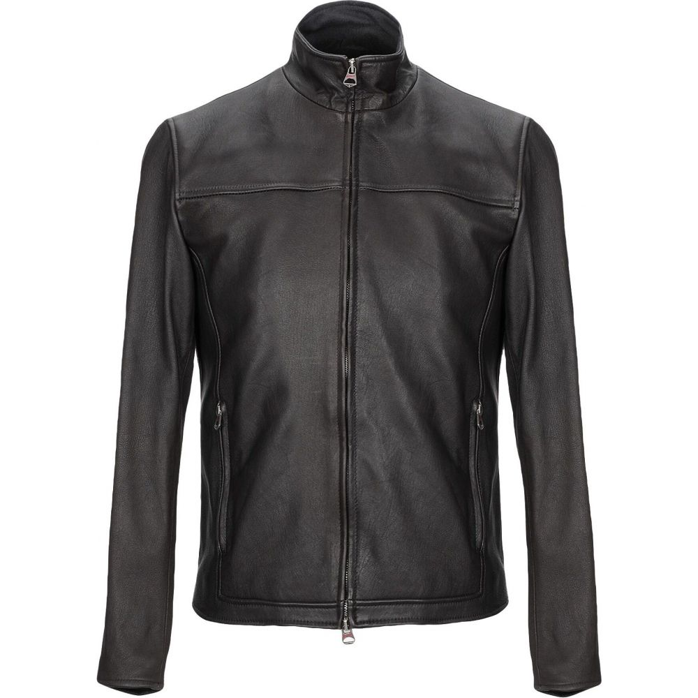 スチュアート STEWART メンズ ジャケット ライダース アウター【biker jacket】Black