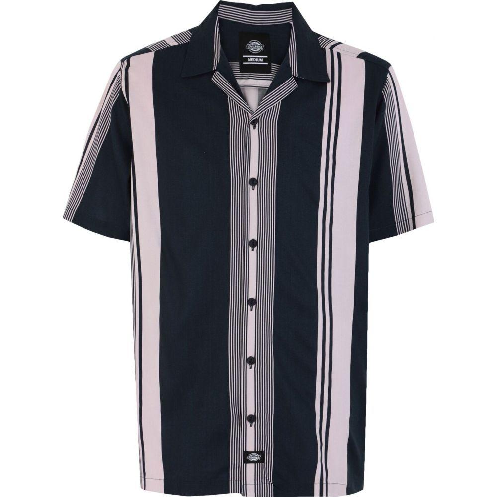 ディッキーズ DICKIES メンズ シャツ トップス【forest park striped shirt】Dark blue