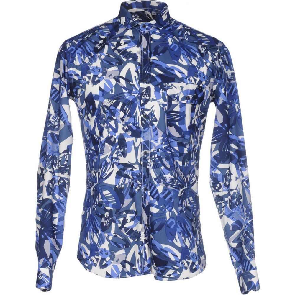 コストメイン COSTUMEIN メンズ シャツ トップス【patterned shirt】Blue
