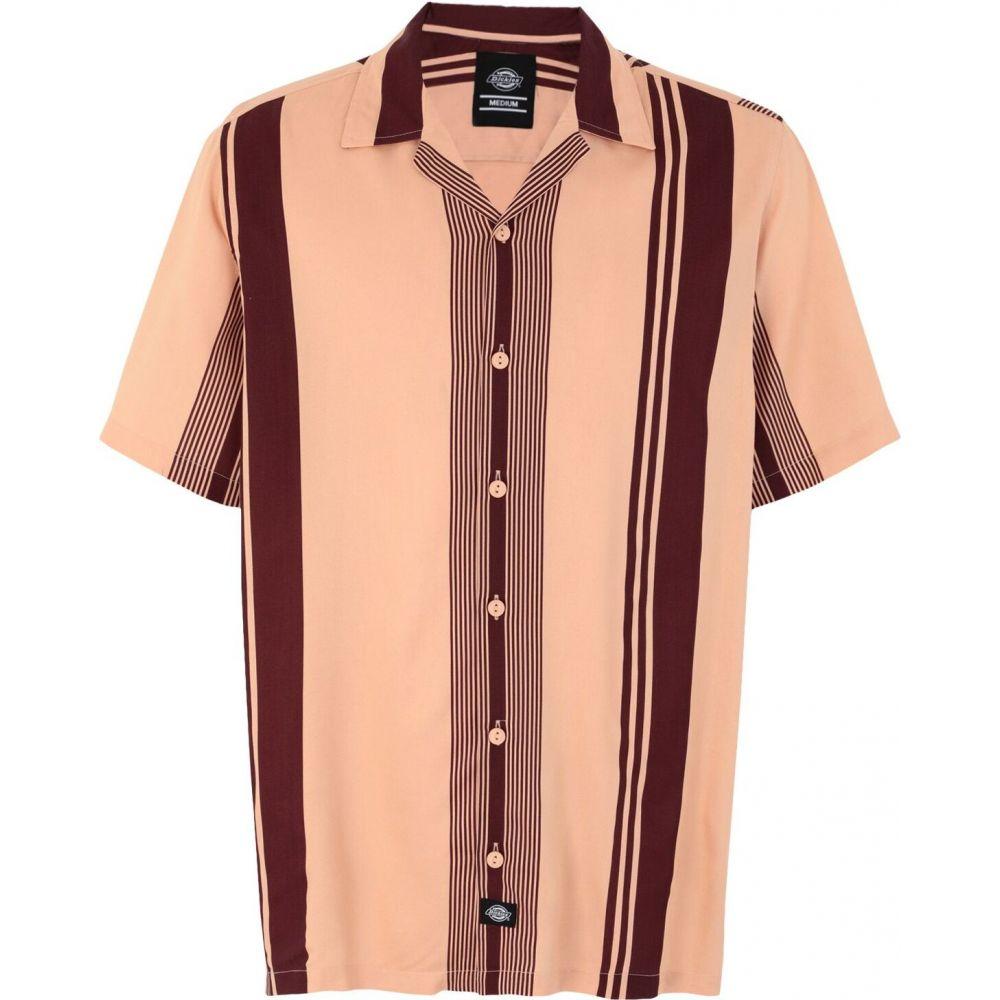 ディッキーズ DICKIES メンズ シャツ トップス【forest park striped shirt】Pale pink