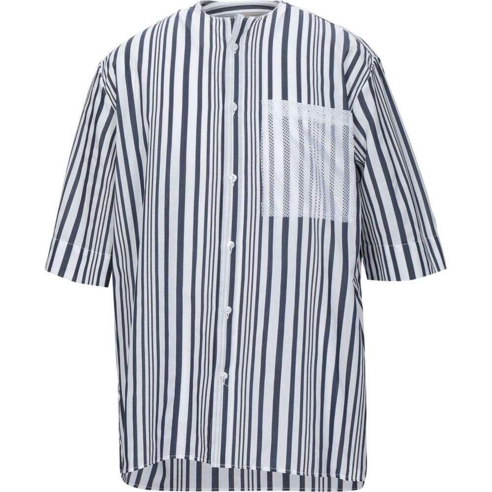 コラレート CORELATE メンズ シャツ トップス【striped shirt】Dark blue