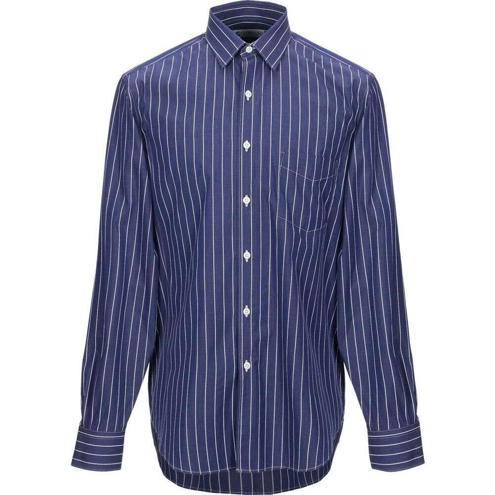 コブラ S.C. COBRA S.C. メンズ シャツ トップス【striped shirt】Purple