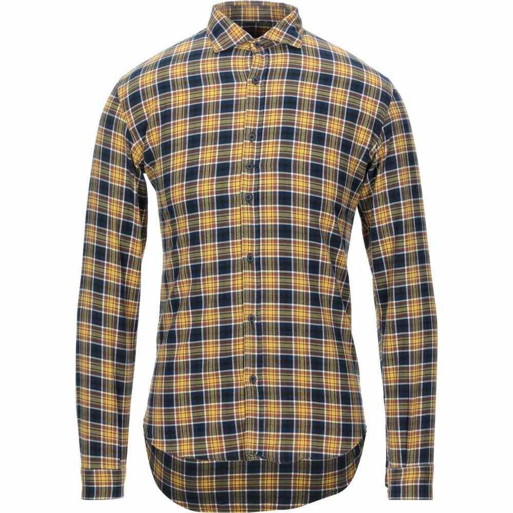 コストメイン COSTUMEIN メンズ シャツ トップス【checked shirt】Yellow