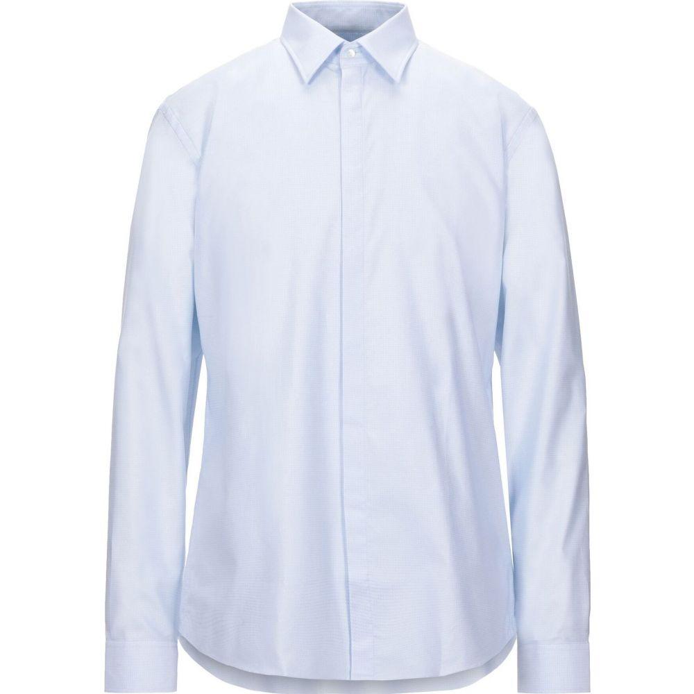バーバリー BURBERRY メンズ シャツ トップス【patterned shirt】Sky blue
