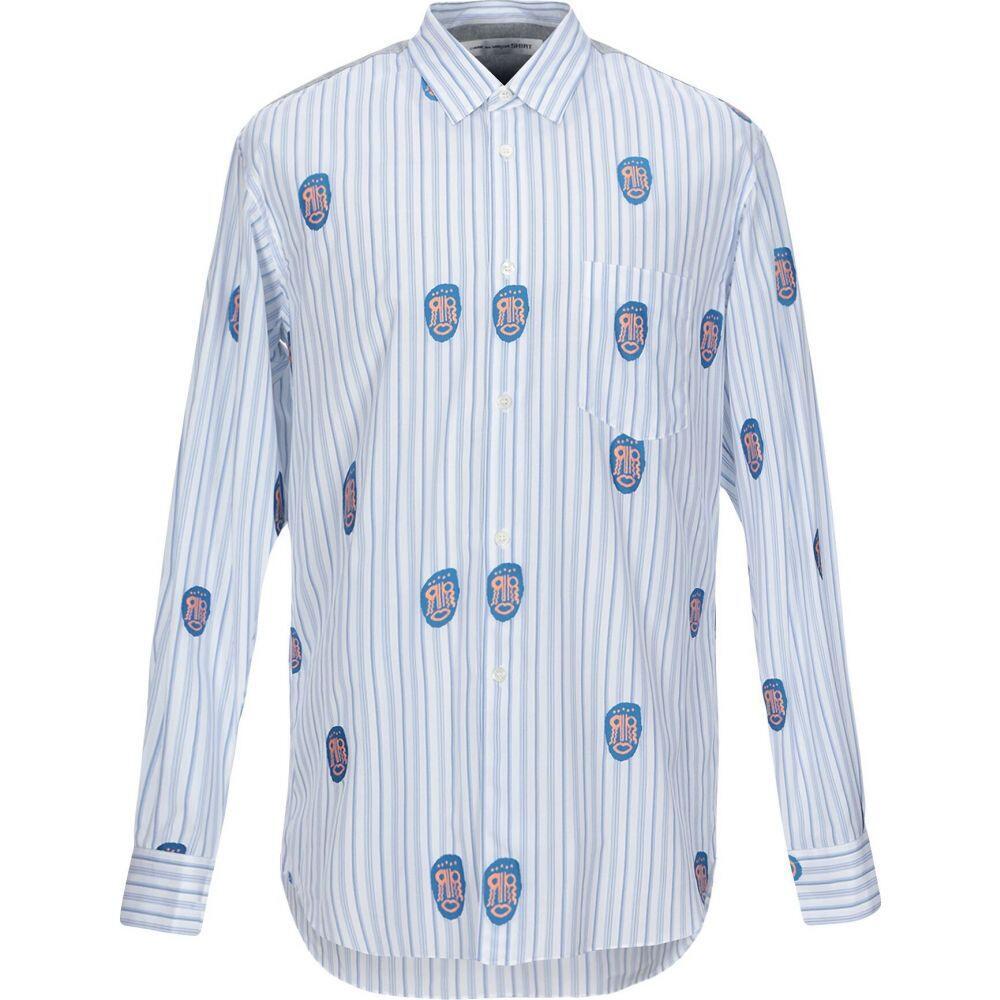 コム デ ギャルソン COMME des GARCONS SHIRT メンズ シャツ トップス【striped shirt】Azure