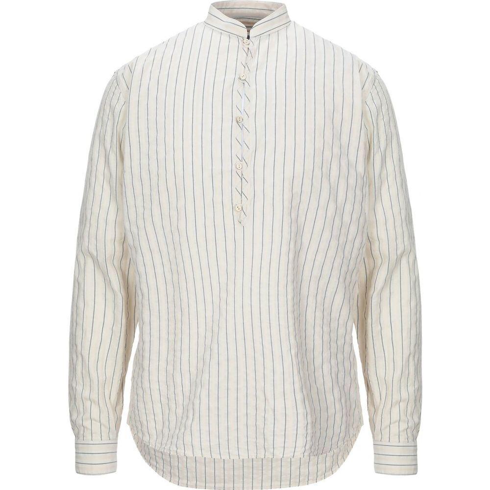 コストメイン COSTUMEIN メンズ シャツ トップス【striped shirt】Ivory