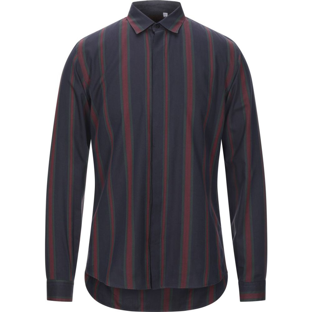 コストメイン COSTUMEIN メンズ シャツ トップス【striped shirt】Dark blue