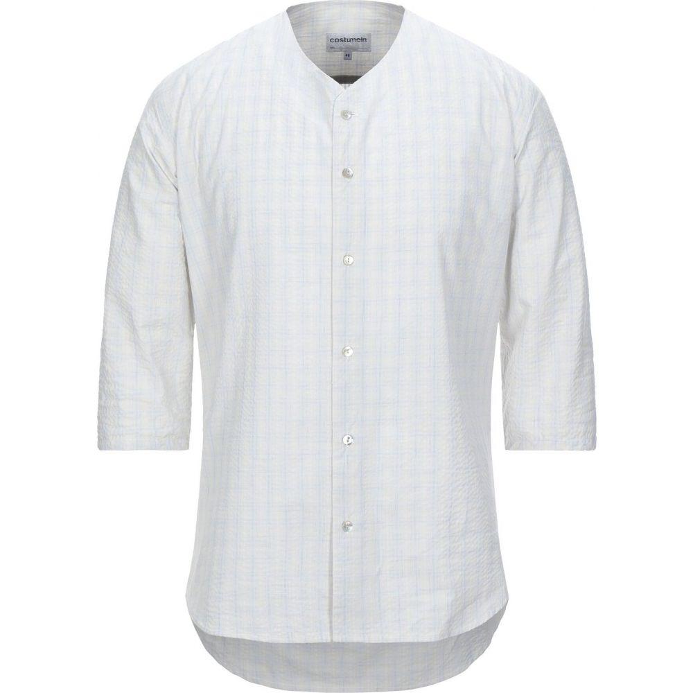 コストメイン COSTUMEIN メンズ シャツ トップス【checked shirt】Beige