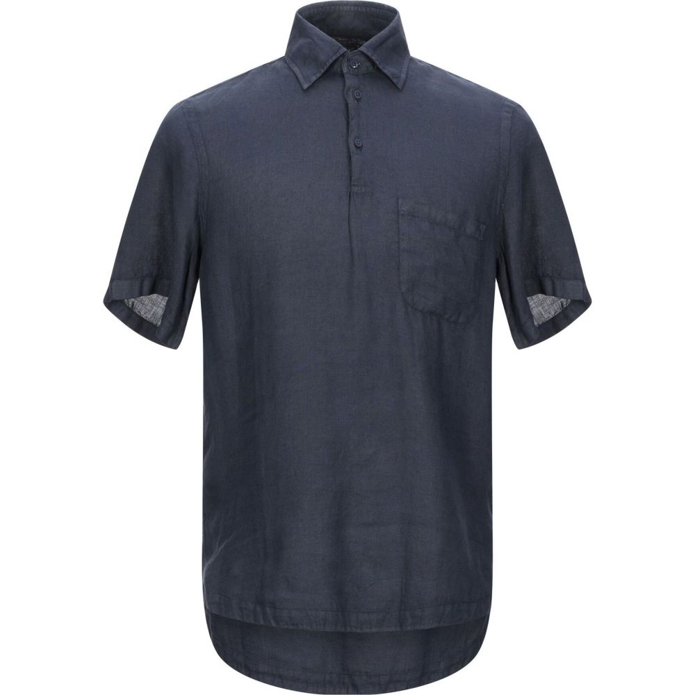 コストメイン COSTUMEIN メンズ シャツ トップス【linen shirt】Dark blue