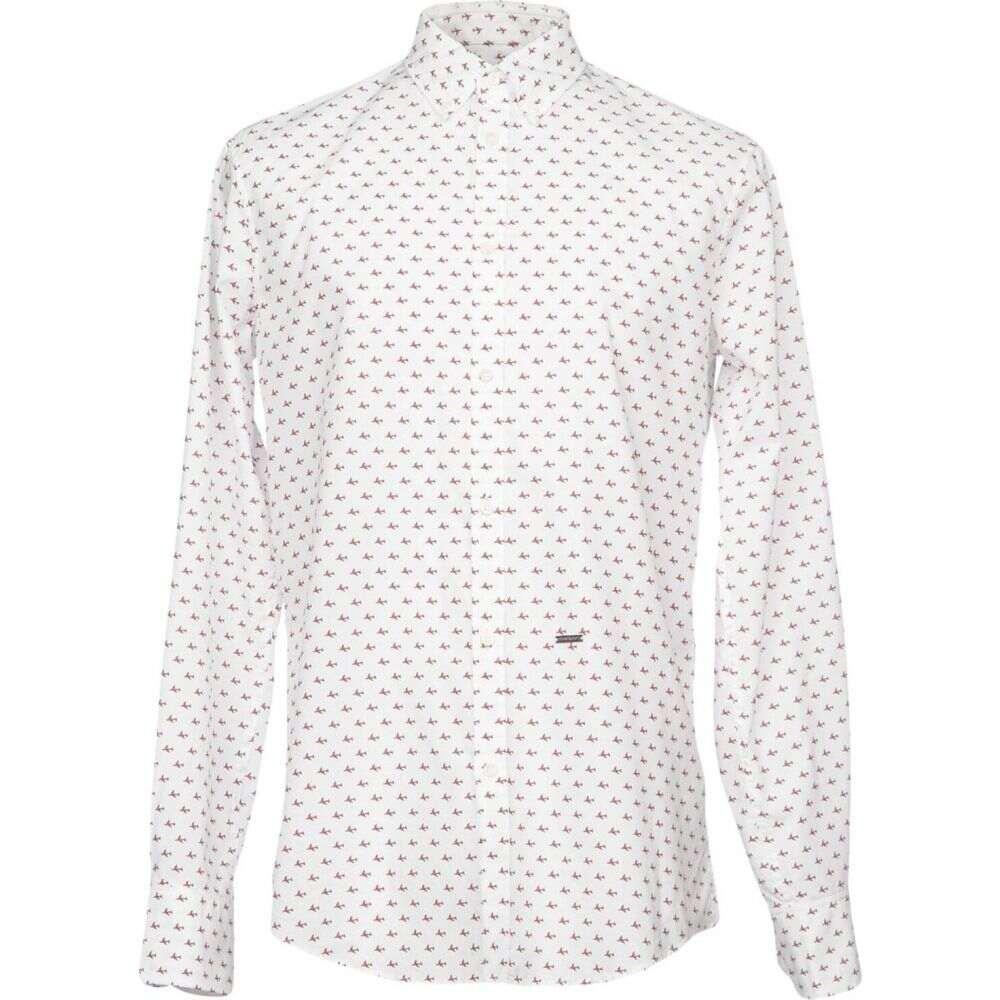 ディースクエアード DSQUARED2 メンズ シャツ トップス【patterned shirt】White