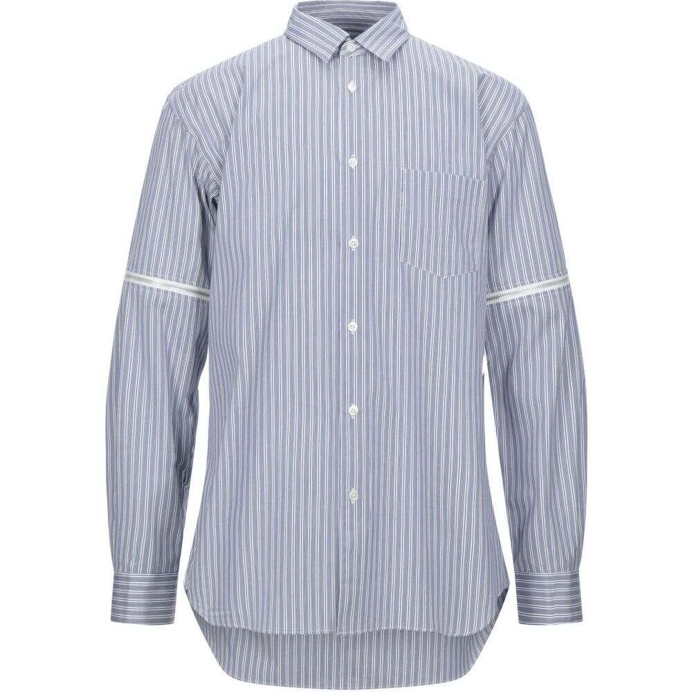 コム デ ギャルソン COMME des GARCONS SHIRT メンズ シャツ トップス【striped shirt】Blue
