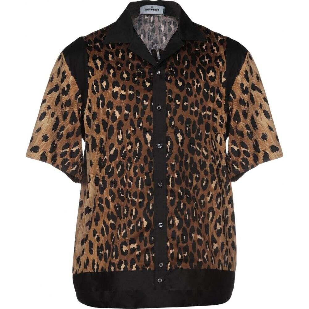 ディースクエアード DSQUARED2 メンズ シャツ トップス【patterned shirt】Brown