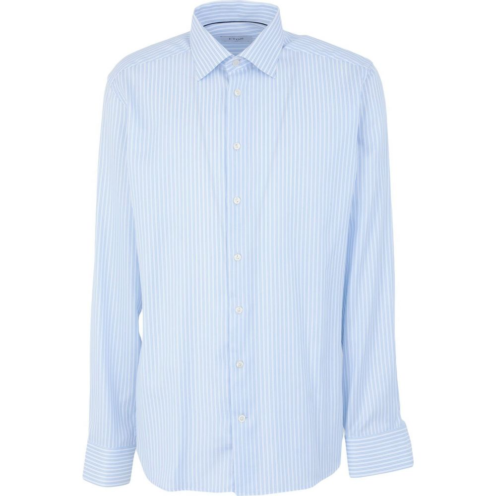 イートン ETON メンズ シャツ トップス【striped shirt】White