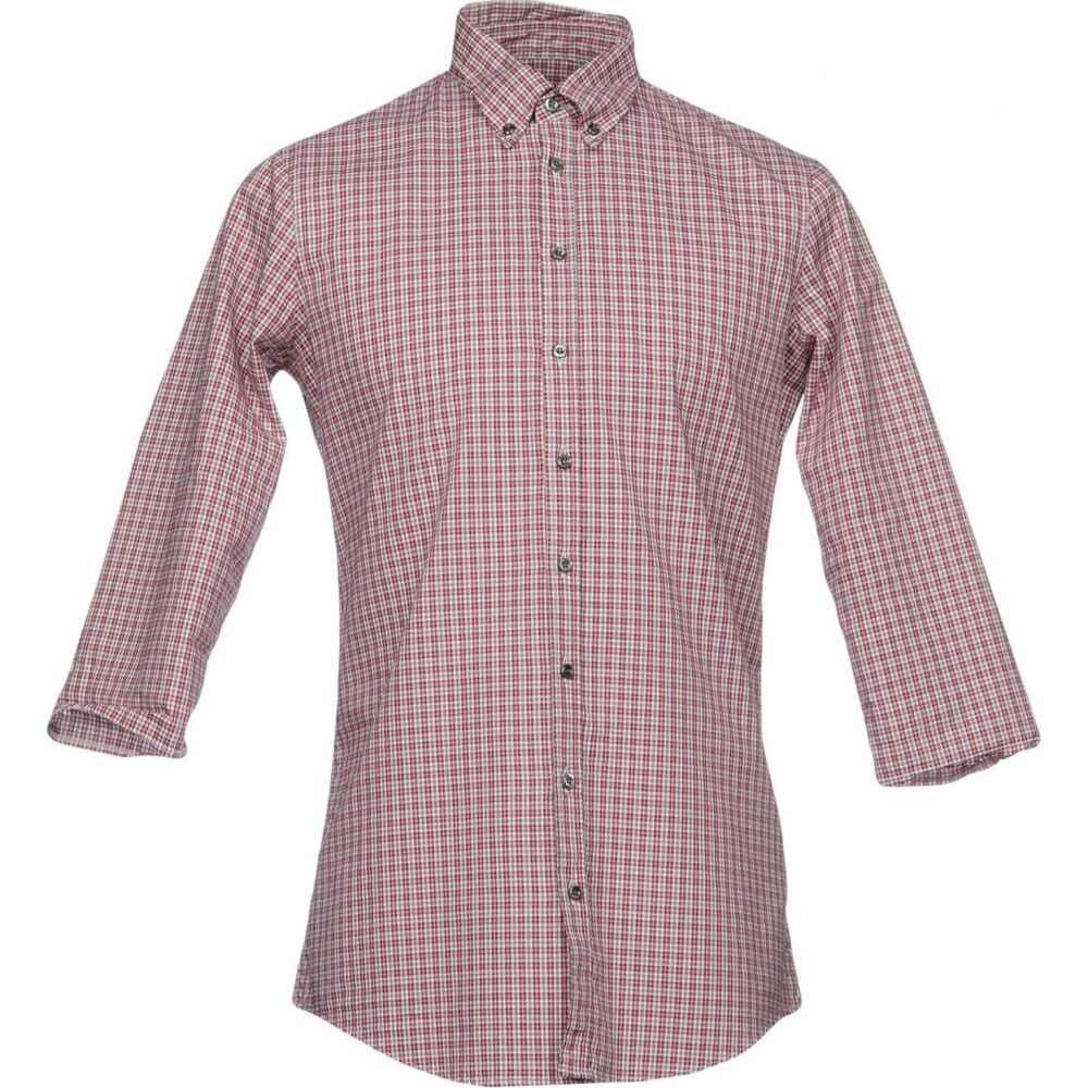 ディースクエアード DSQUARED2 メンズ シャツ トップス【checked shirt】Red