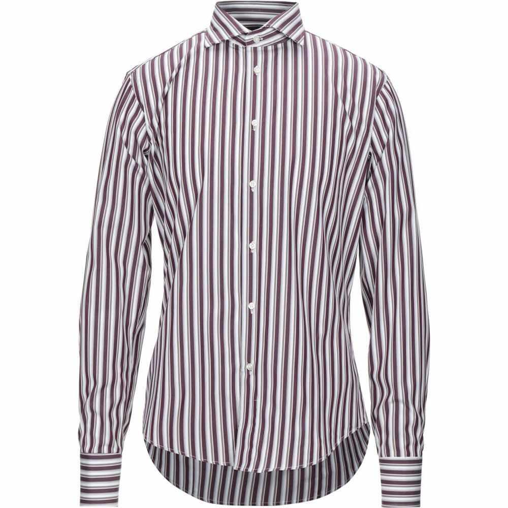 ブライアン デールズ BRIAN DALES メンズ シャツ トップス【striped shirt】Deep purple