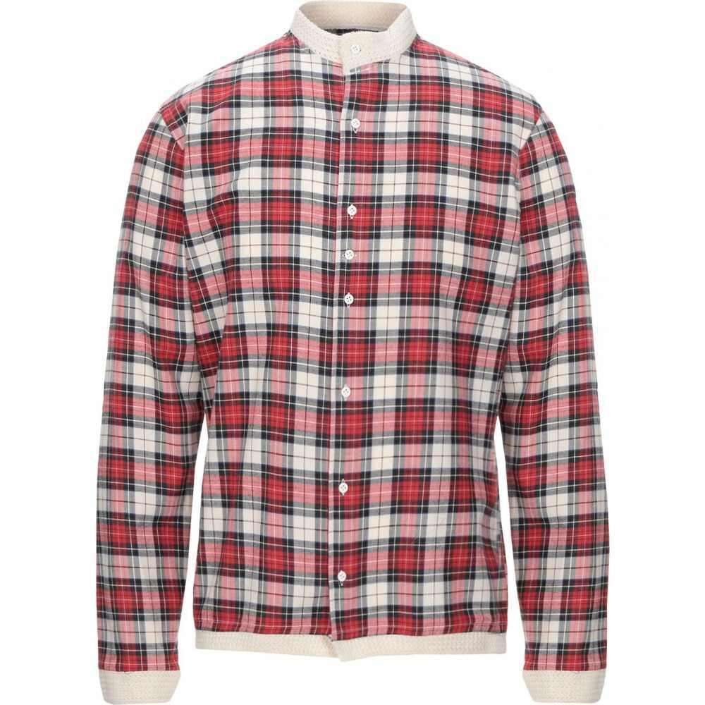 コストメイン COSTUMEIN メンズ シャツ トップス【checked shirt】Red