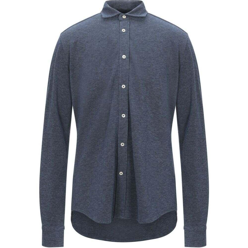 チルコロ1901 CIRCOLO 1901 メンズ シャツ トップス【patterned shirt】Blue