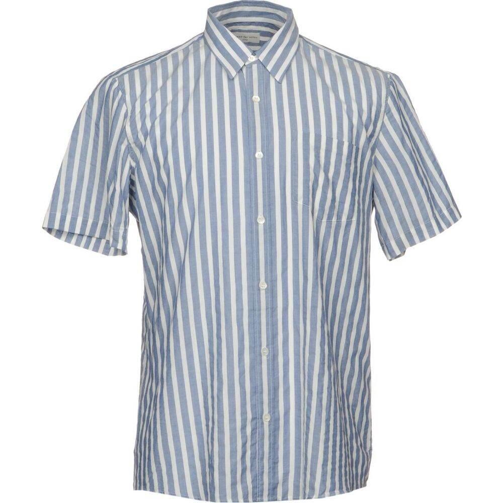 ドリス ヴァン ノッテン DRIES VAN NOTEN メンズ シャツ トップス【striped shirt】Blue