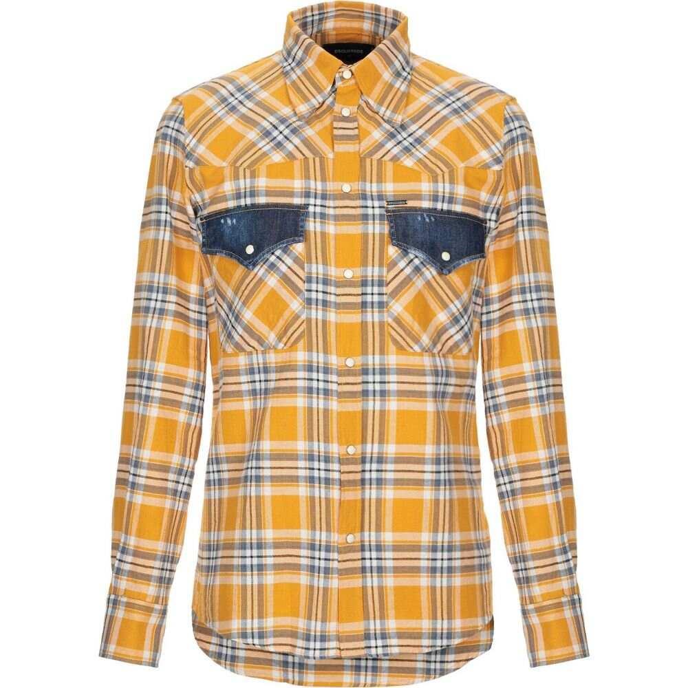 ディースクエアード DSQUARED2 メンズ シャツ トップス【checked shirt】Yellow