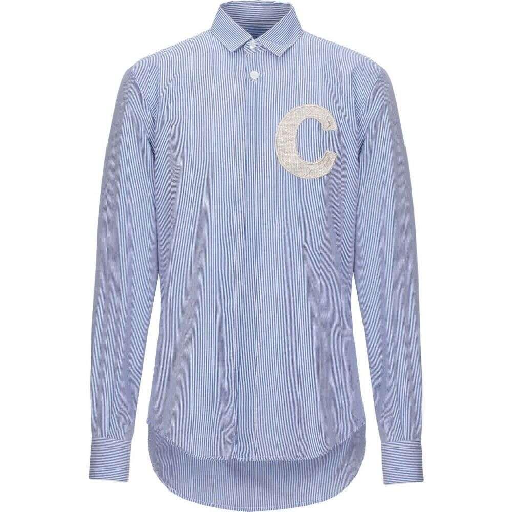 コラレート CORELATE メンズ シャツ トップス【striped shirt】Blue