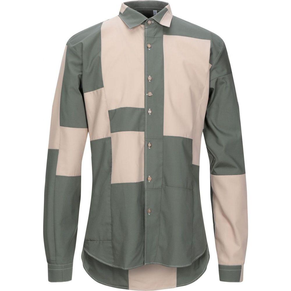 コストメイン COSTUMEIN メンズ シャツ トップス【patterned shirt】Military green