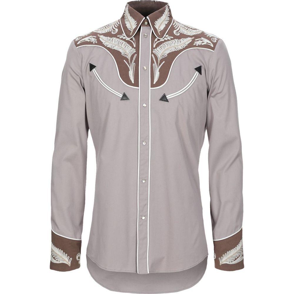 ディースクエアード DSQUARED2 メンズ シャツ トップス【patterned shirt】Dove grey