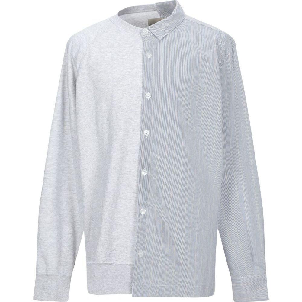 コラレート CORELATE メンズ シャツ トップス【patterned shirt】Light grey