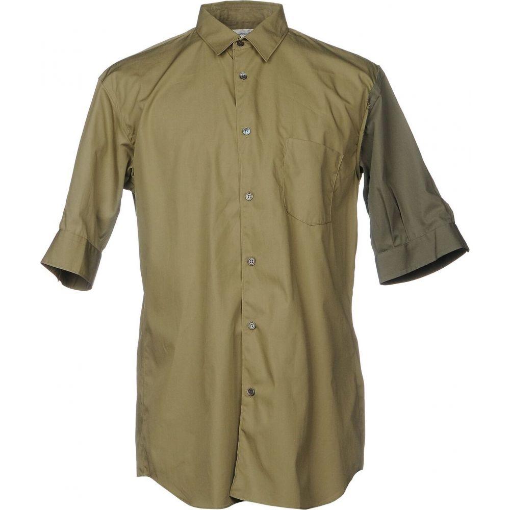 コム デ ギャルソン COMME des GARCONS SHIRT メンズ シャツ トップス【patterned shirt】Military green