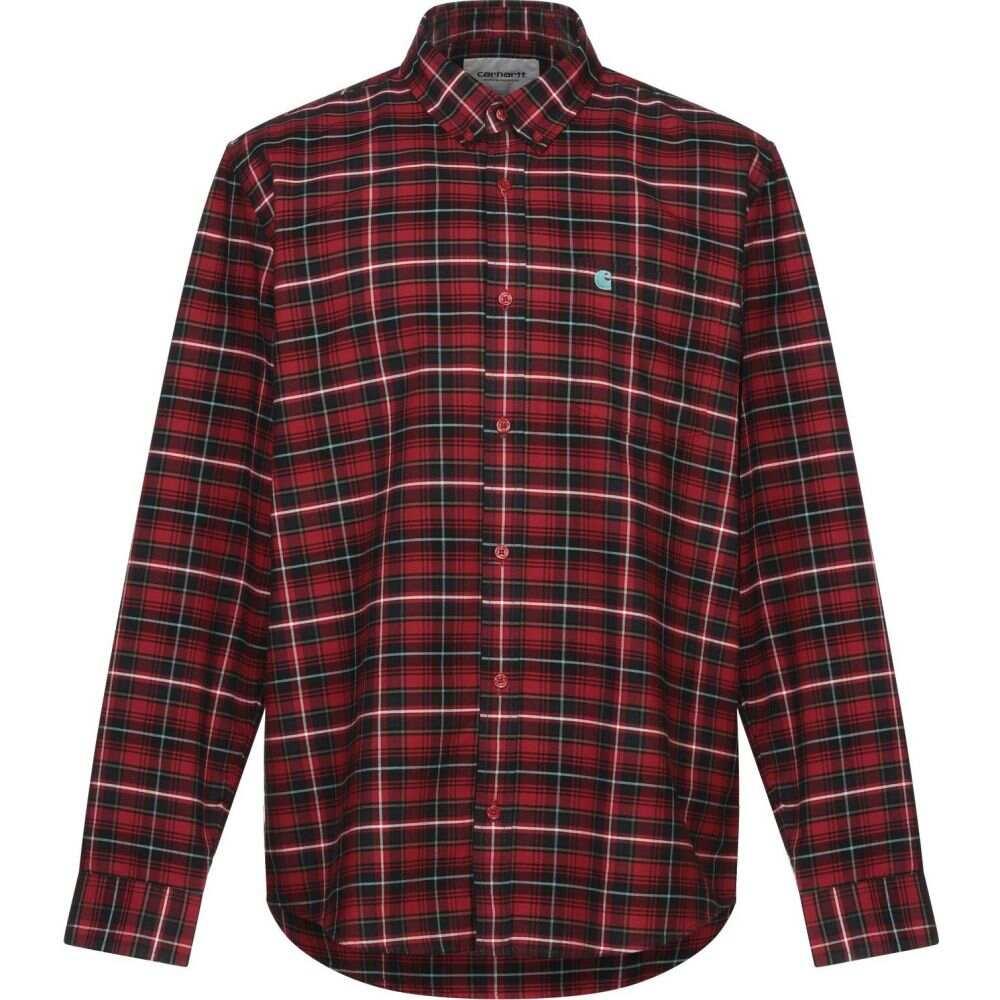 カーハート CARHARTT メンズ シャツ トップス【checked shirt】Red