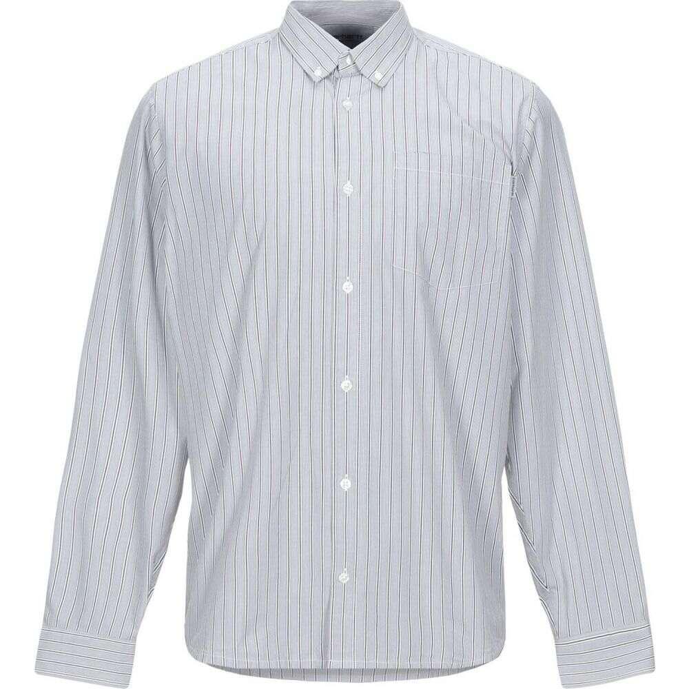 カーハート CARHARTT メンズ シャツ トップス【striped shirt】Grey