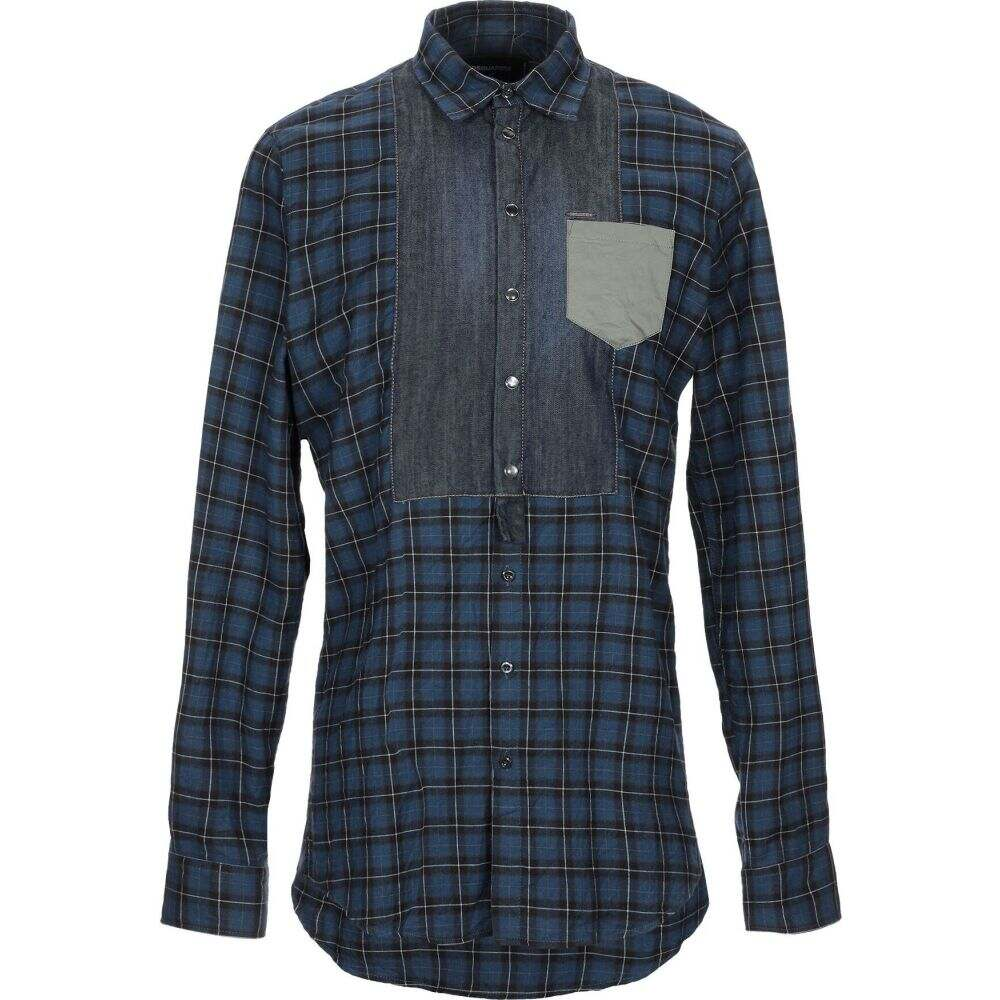 ディースクエアード DSQUARED2 メンズ シャツ トップス【checked shirt】Dark blue