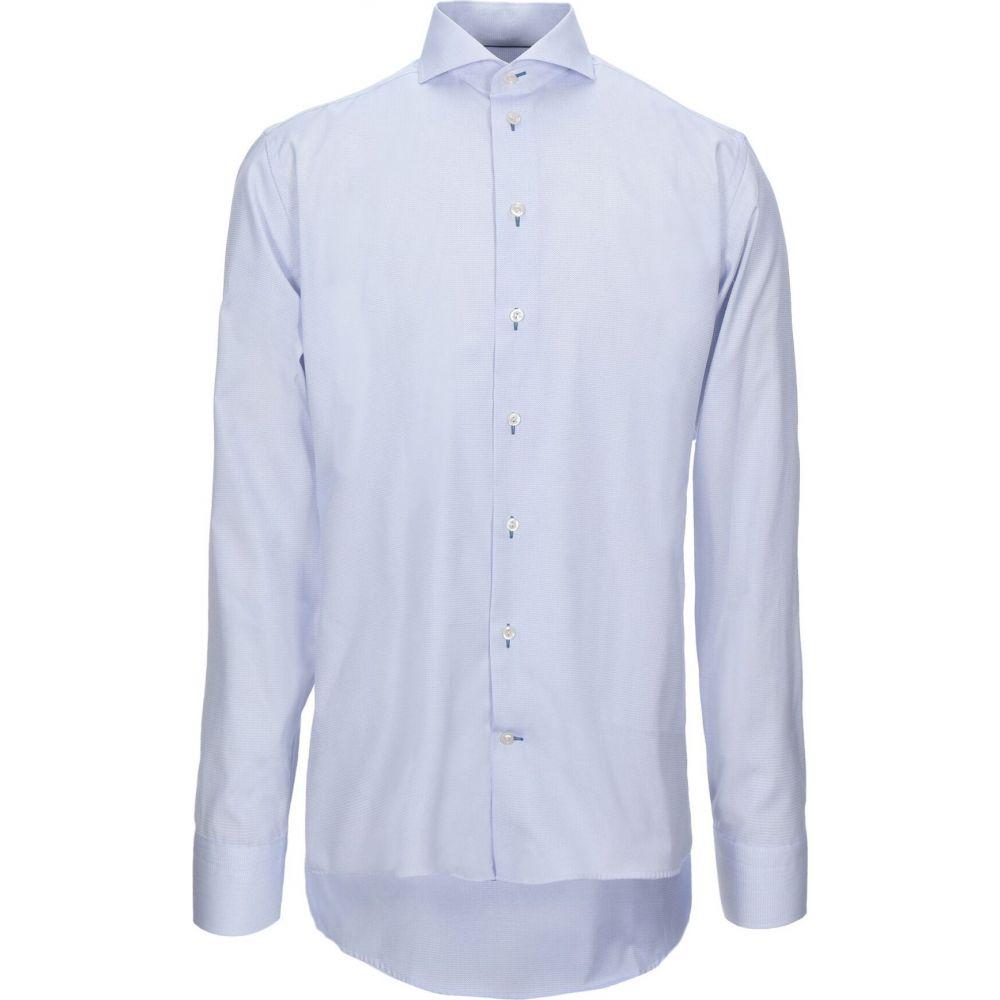イートン ETON メンズ シャツ トップス【patterned shirt】Blue