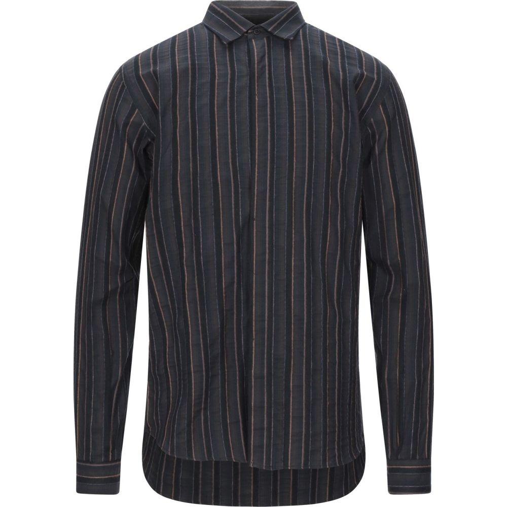 コストメイン COSTUMEIN メンズ シャツ トップス【striped shirt】Dark brown