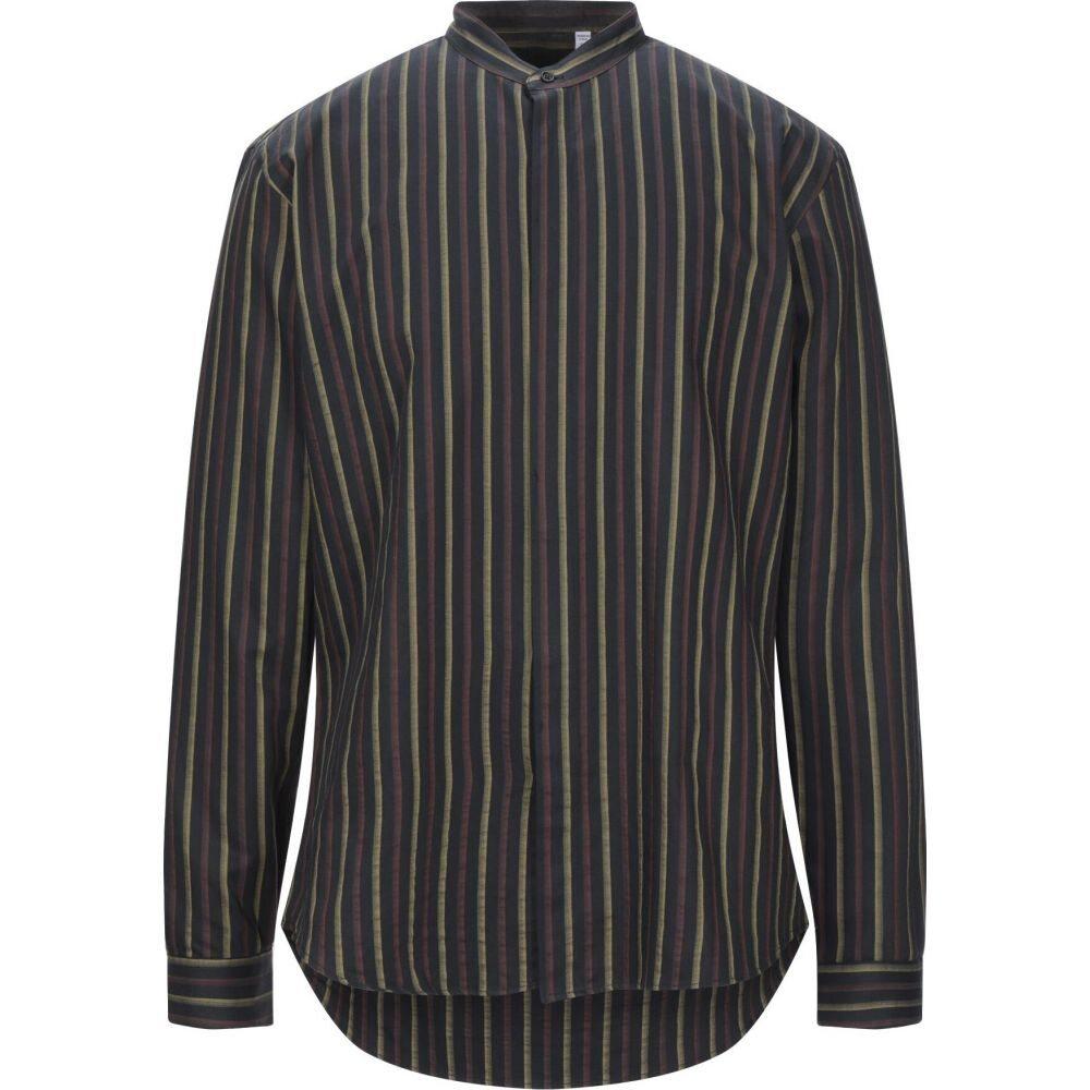 コストメイン COSTUMEIN メンズ シャツ トップス【striped shirt】Black