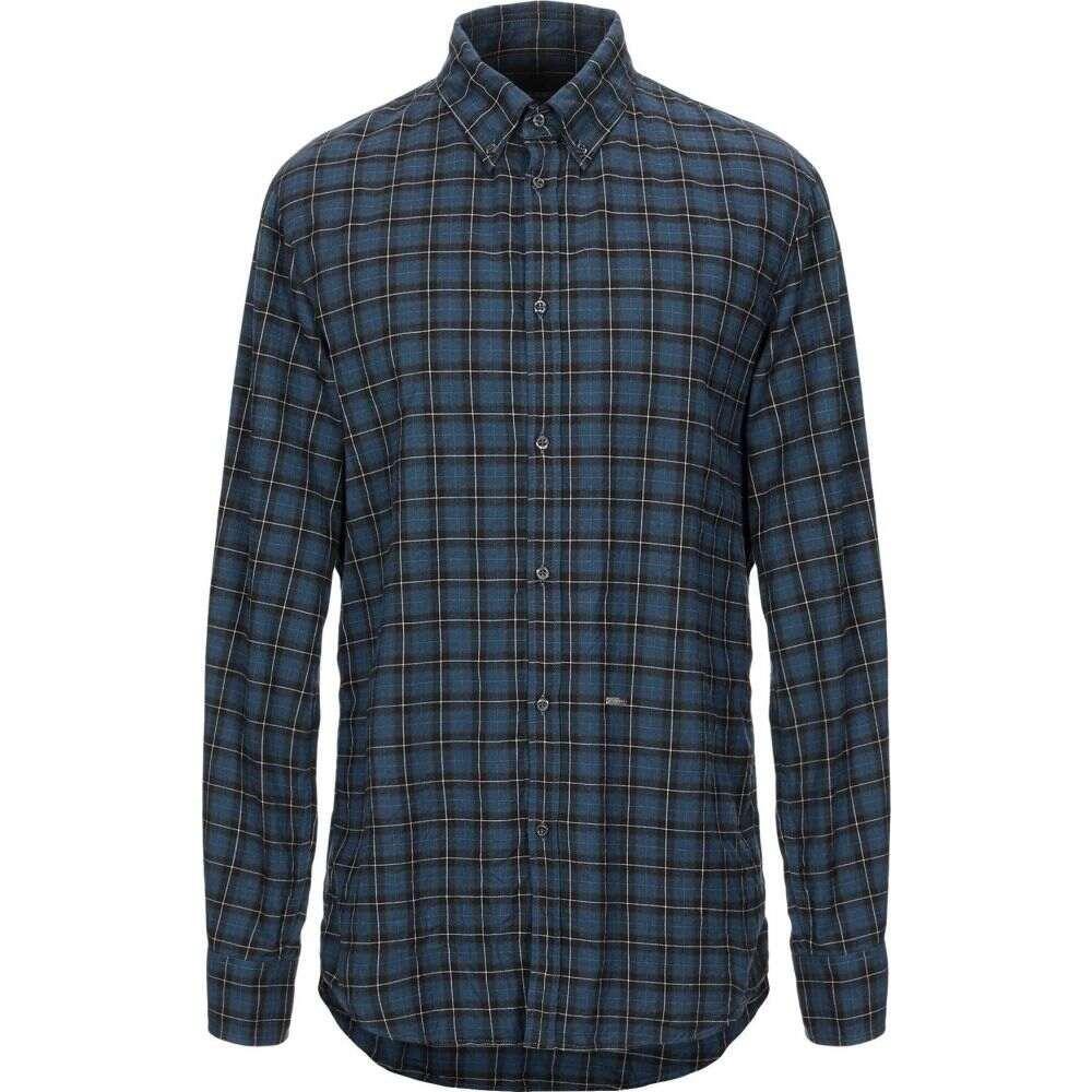 ディースクエアード DSQUARED2 メンズ シャツ トップス【checked shirt】Blue