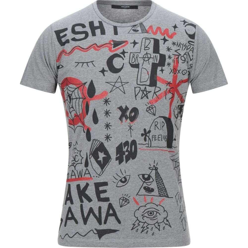 タケシ クロサワ TAKESHY KUROSAWA メンズ Tシャツ トップス【t-shirt】Grey