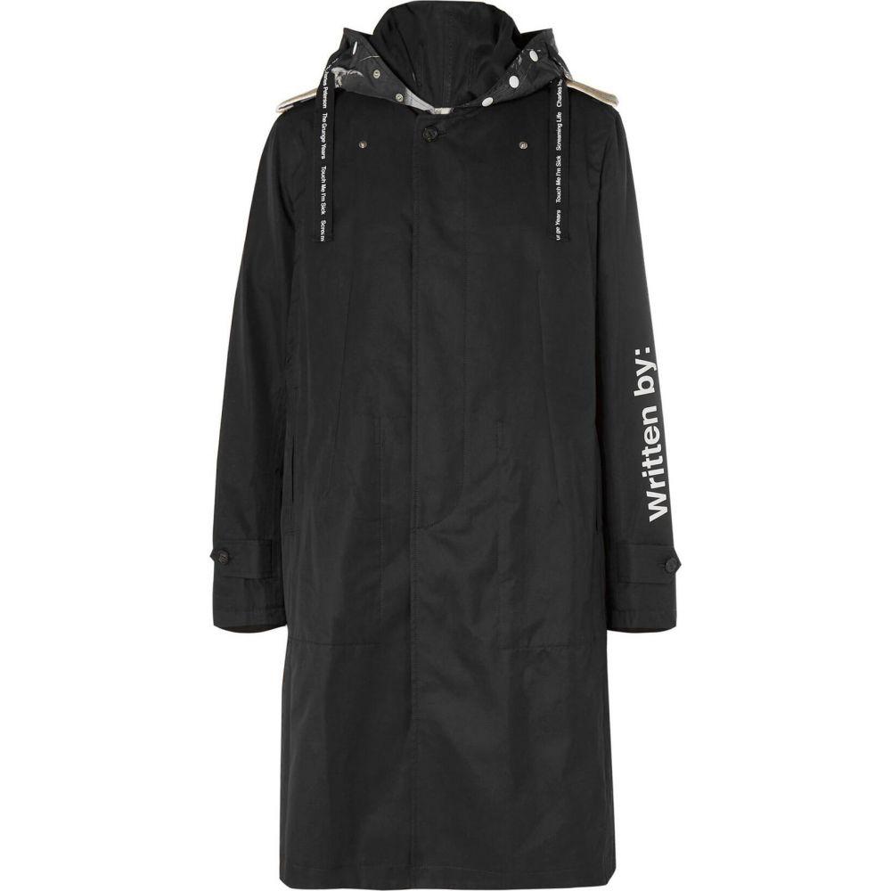 タカヒロミヤシタザソロイスト TAKAHIROMIYASHITA THESOLOIST. メンズ コート アウター【full-length jacket】Black