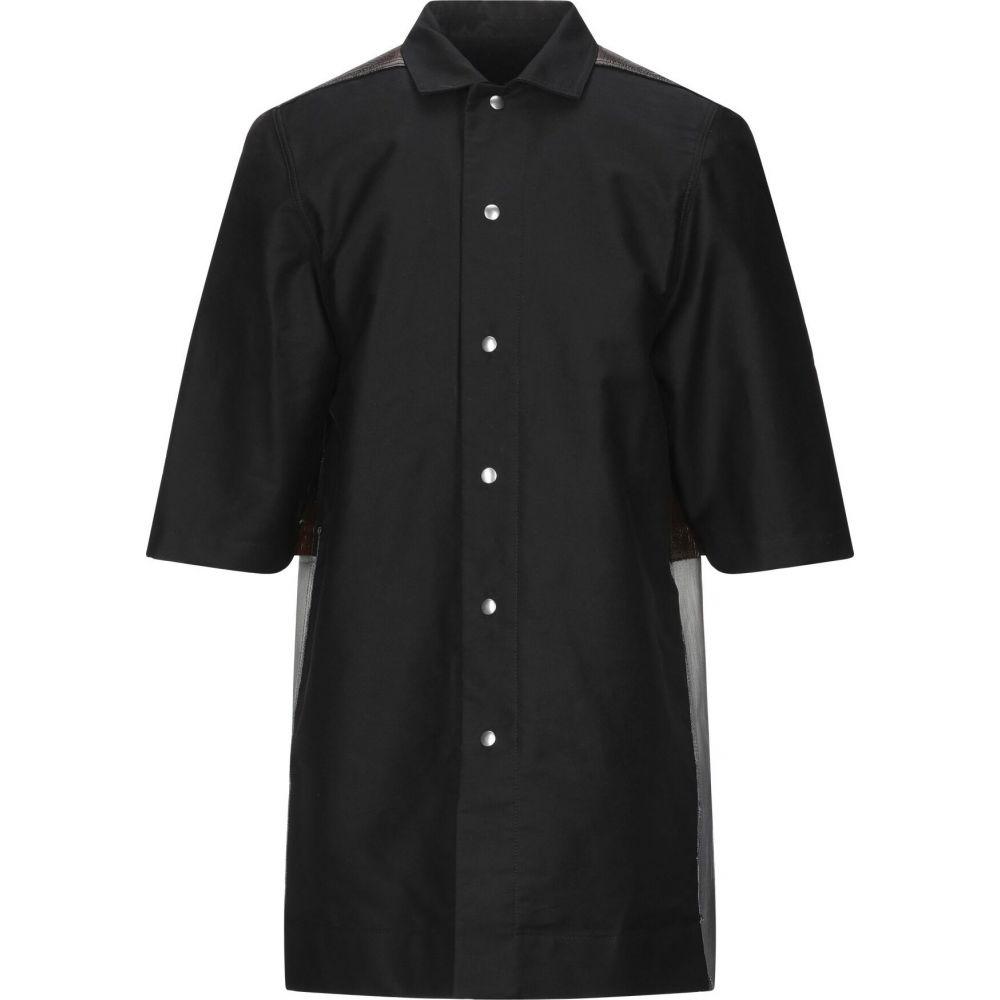 ダークシャドウ DRKSHDW by RICK OWENS メンズ コート アウター【full-length jacket】Black