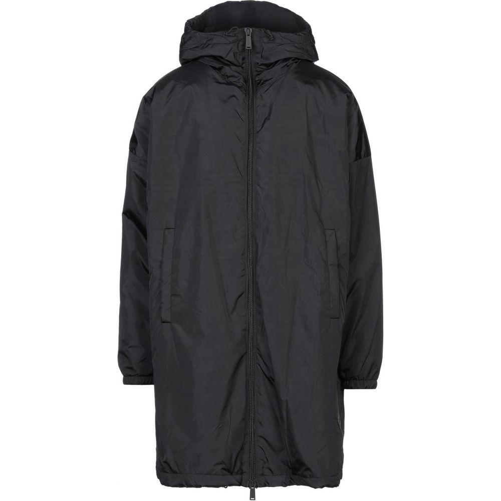 ディースクエアード DSQUARED2 メンズ コート アウター【full-length jacket】Black