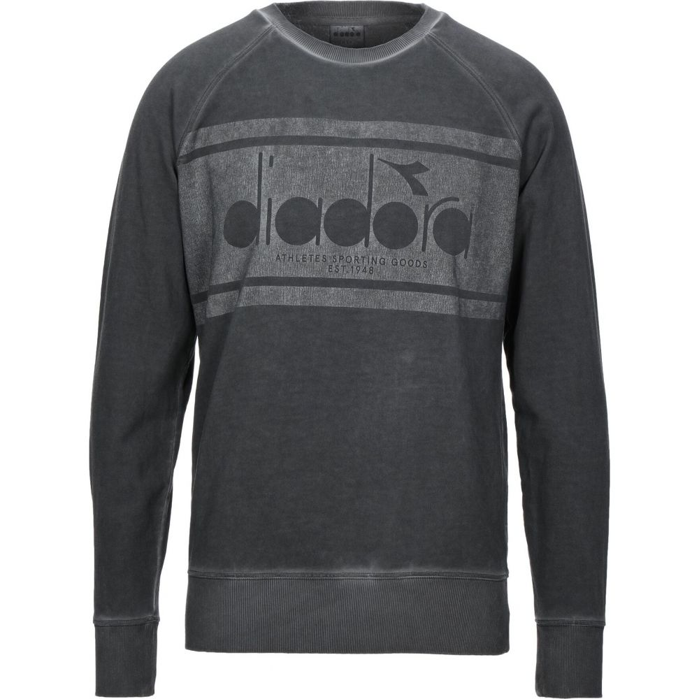 ディアドラ DIADORA メンズ スウェット・トレーナー トップス【sweatshirt】Steel grey