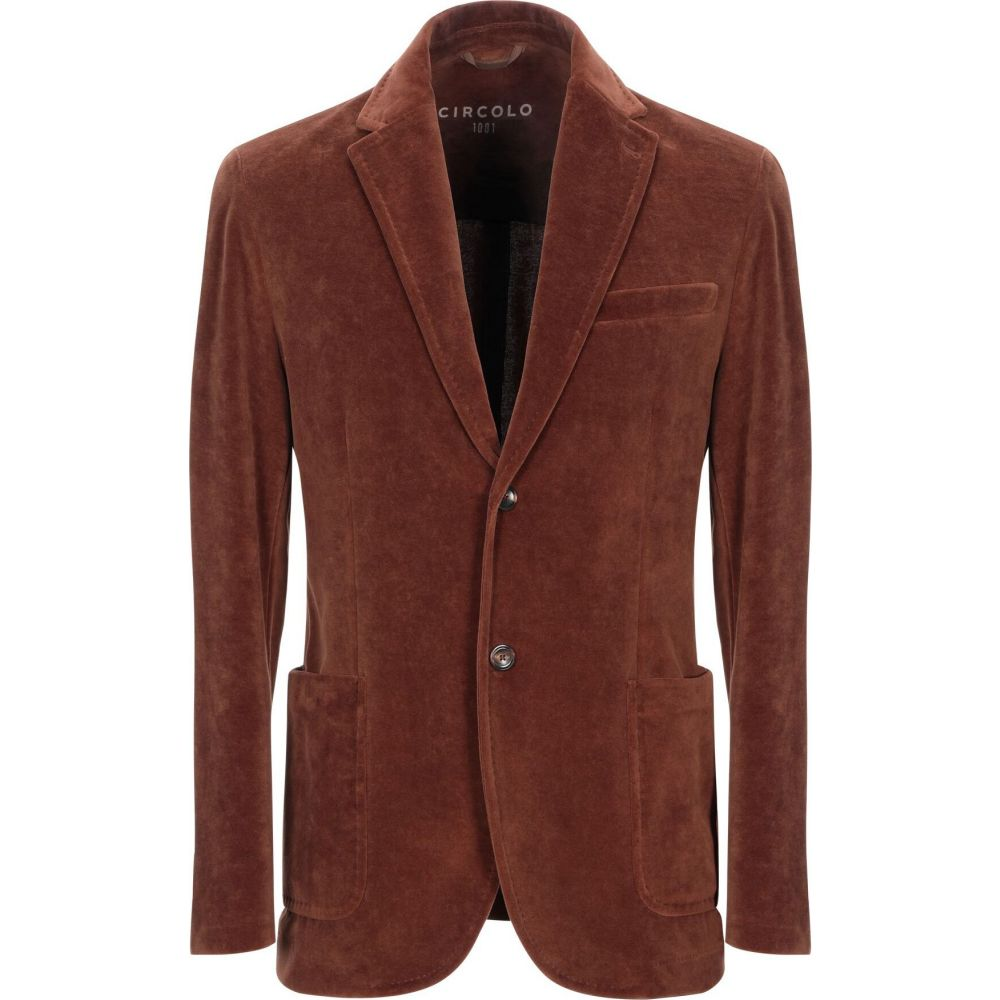 チルコロ1901 CIRCOLO 1901 メンズ スーツ・ジャケット アウター【blazer】Brick red:フェルマート