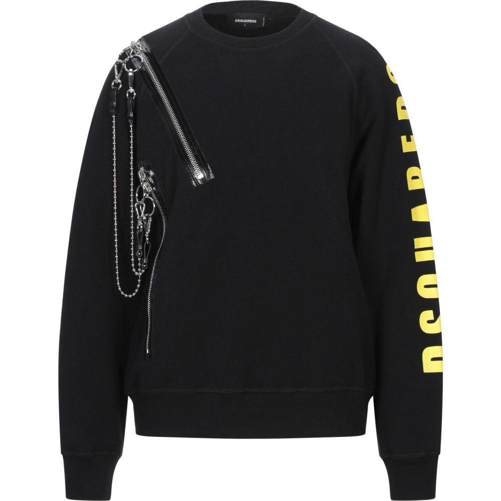 ディースクエアード DSQUARED2 メンズ スウェット・トレーナー トップス【sweatshirt】Black