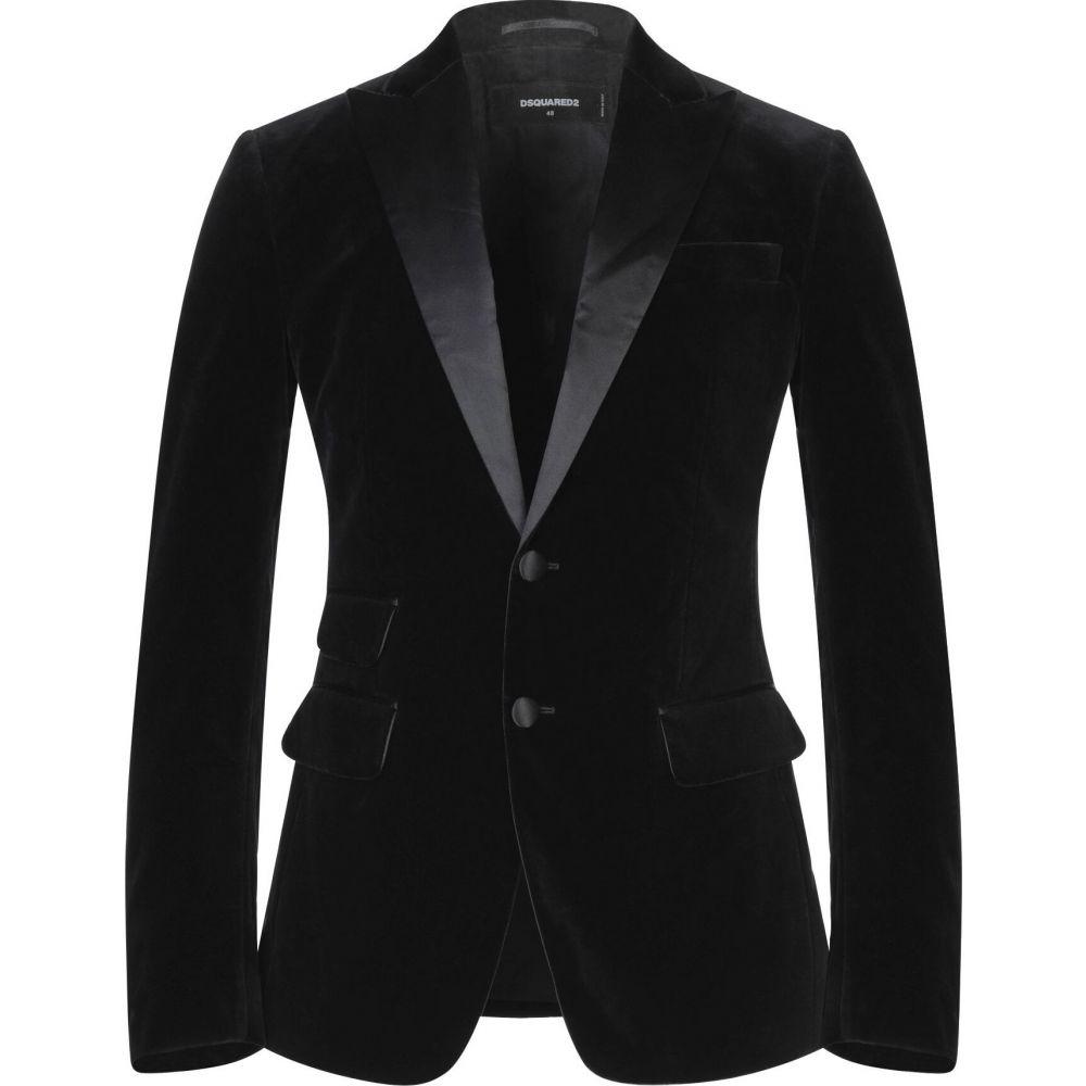 ディースクエアード DSQUARED2 メンズ スーツ・ジャケット アウター【blazer】Black