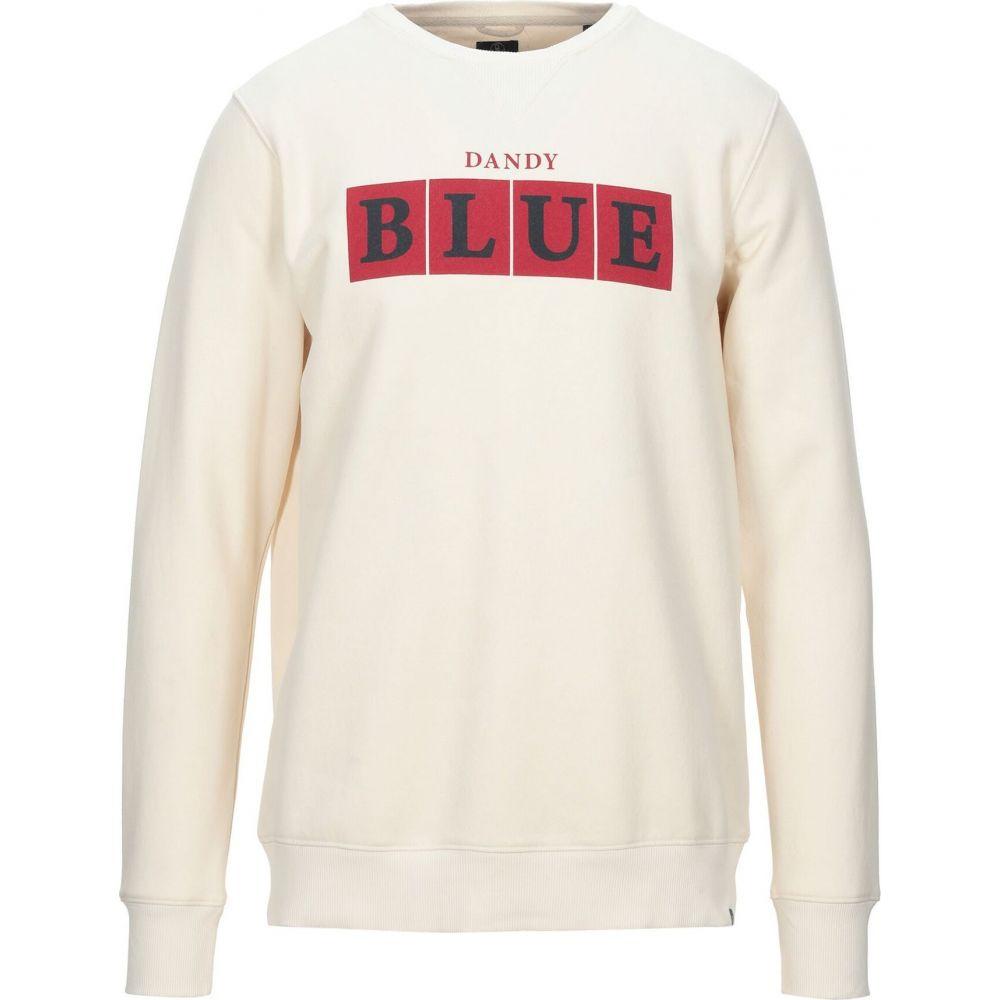 ディストレス DSTREZZED メンズ スウェット・トレーナー トップス【sweatshirt】Ivory