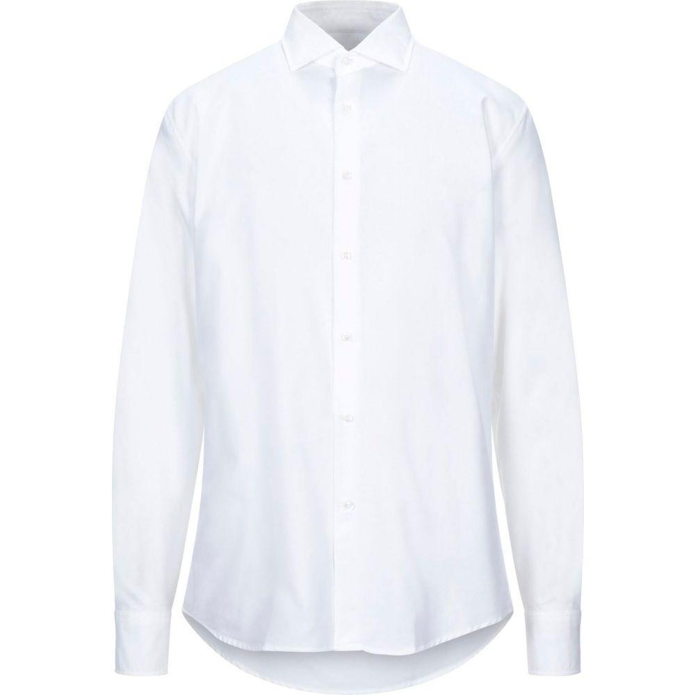 デペール DEPERLU メンズ シャツ トップス【solid color shirt】White