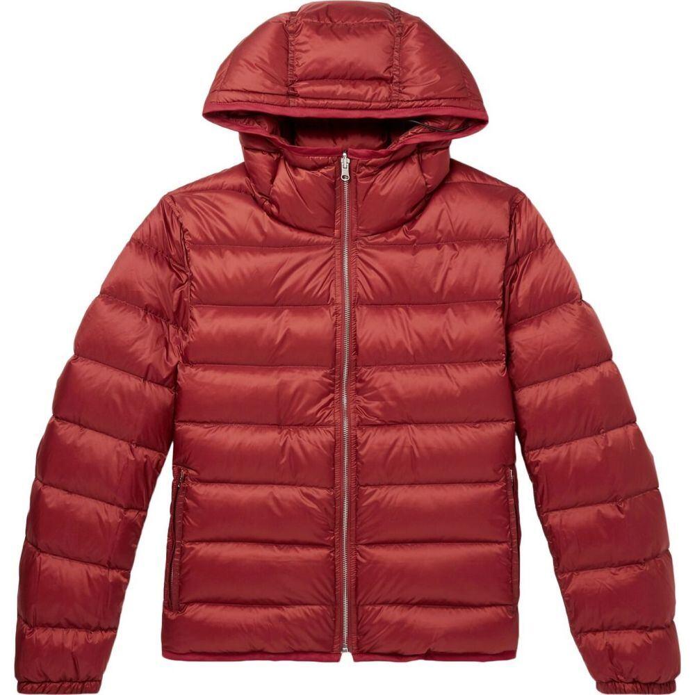 テンシー TEN C メンズ ダウン・中綿ジャケット アウター【down jacket】Brick red