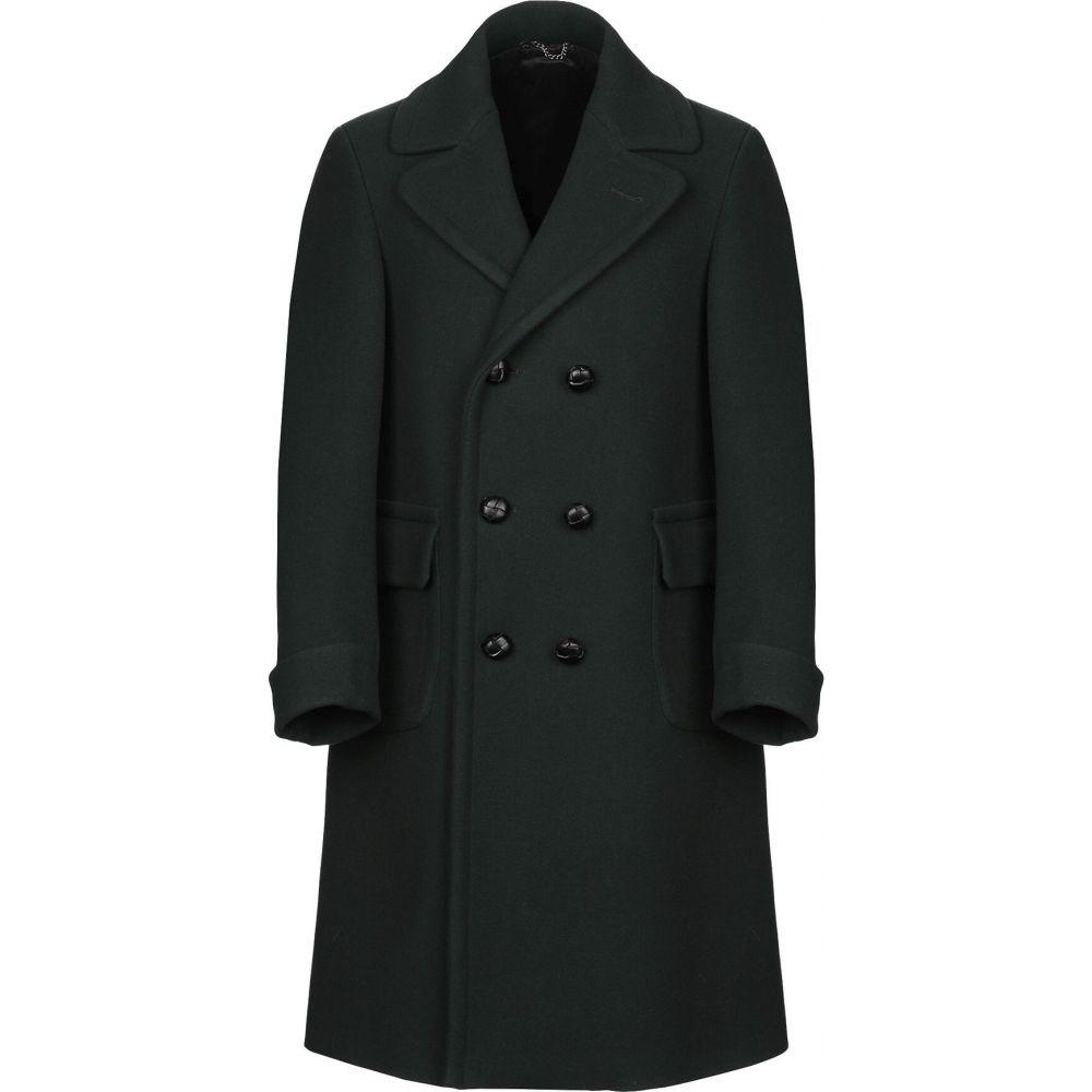 ドッピア アー DOPPIAA メンズ コート アウター【coat】Dark green